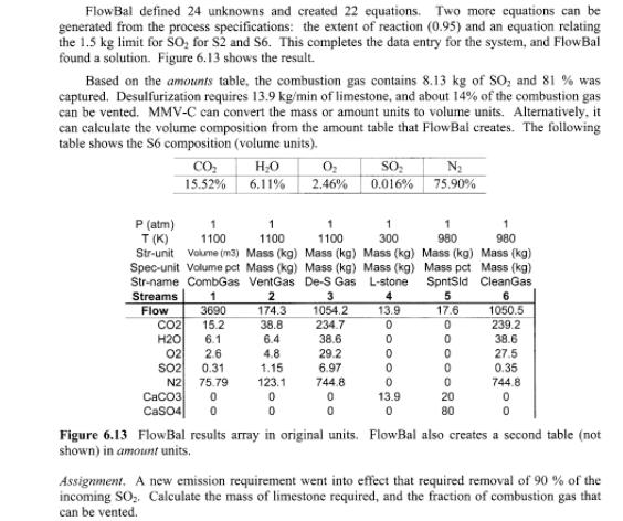 resultados de calculo de analise de fluxo de producao indisurtrial